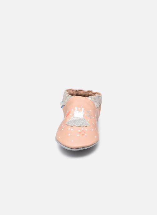 Chaussons Robeez Dress Ballet Rose vue portées chaussures
