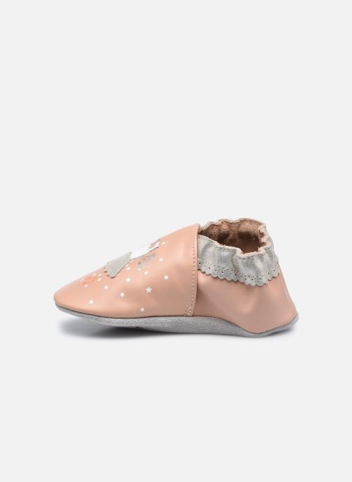 Pantuflas Robeez Dress Ballet Rosa vista de frente