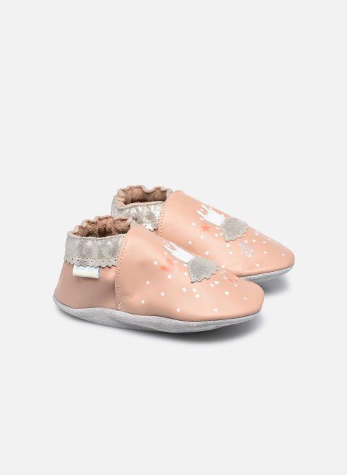 Pantuflas Robeez Dress Ballet Rosa vista de detalle / par