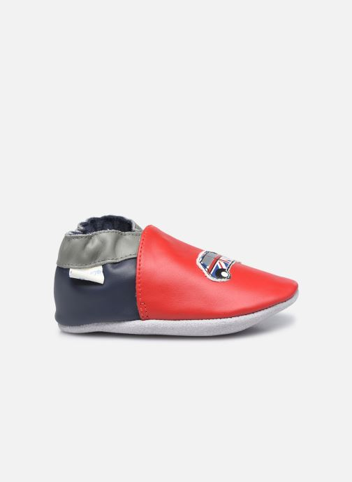 Pantuflas Robeez London Car Rojo vistra trasera