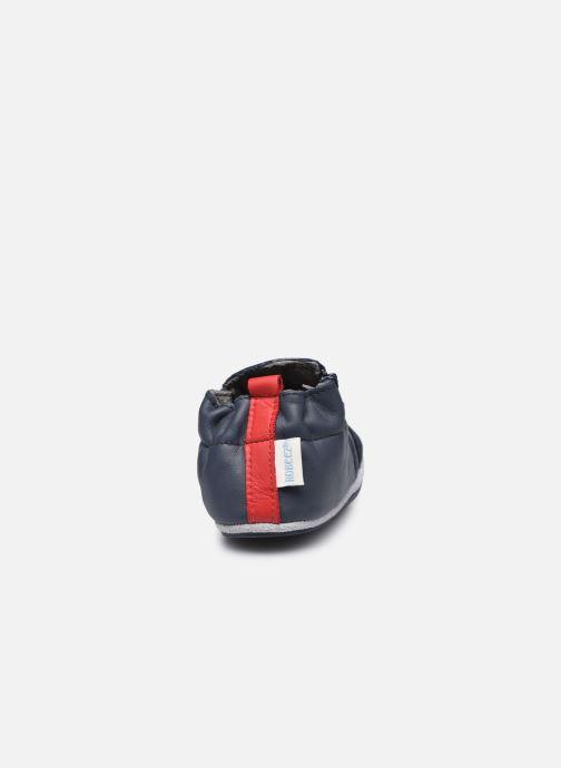 Pantofole Robeez London Flag Azzurro immagine destra