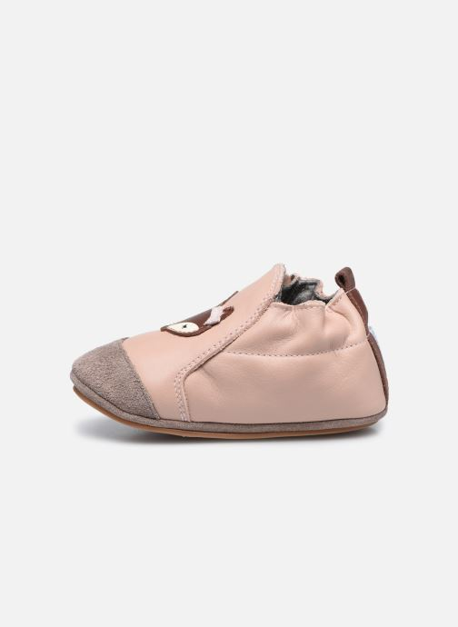 Chaussons Robeez Dreamy Fox Rose vue face