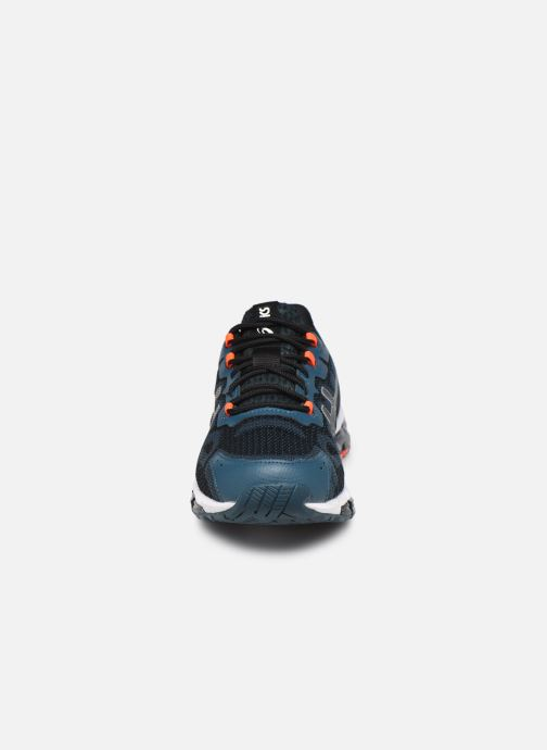 Chaussures de sport Asics Gel-Quantum 360 6 Bleu vue portées chaussures