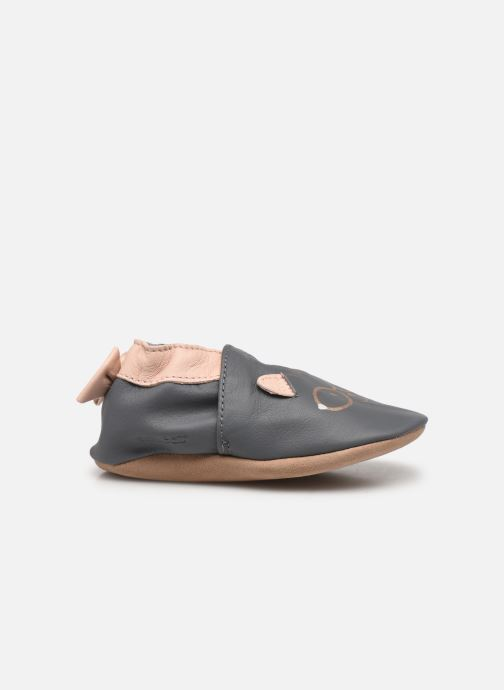 Pantofole Robeez Nerd Cat Grigio immagine posteriore