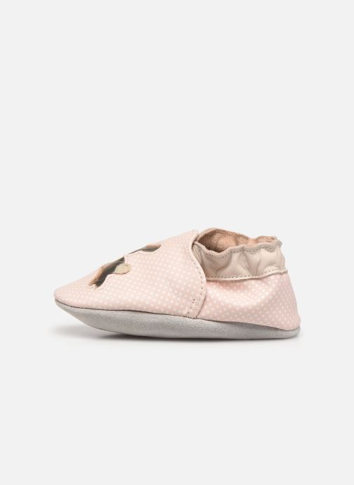 Chaussons Robeez Rabbit Baby Rose vue face