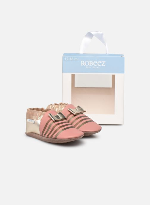 Pantofole Robeez Shiny Bow Tie Rosa immagine 3/4