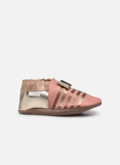 Pantofole Robeez Shiny Bow Tie Rosa immagine posteriore