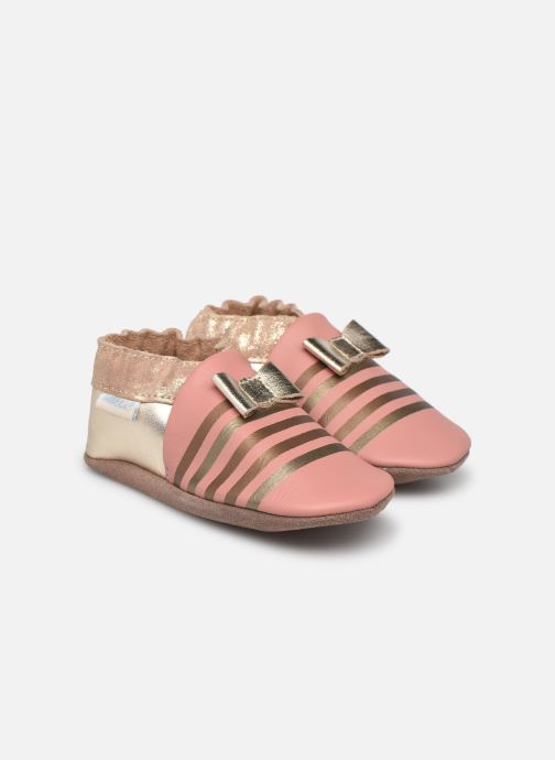 Pantofole Robeez Shiny Bow Tie Rosa vedi dettaglio/paio