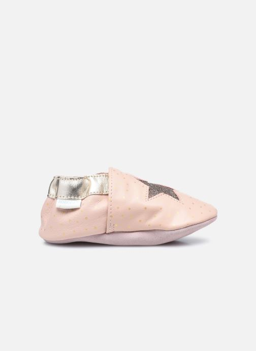 Pantofole Robeez Fire Star Rosa immagine posteriore