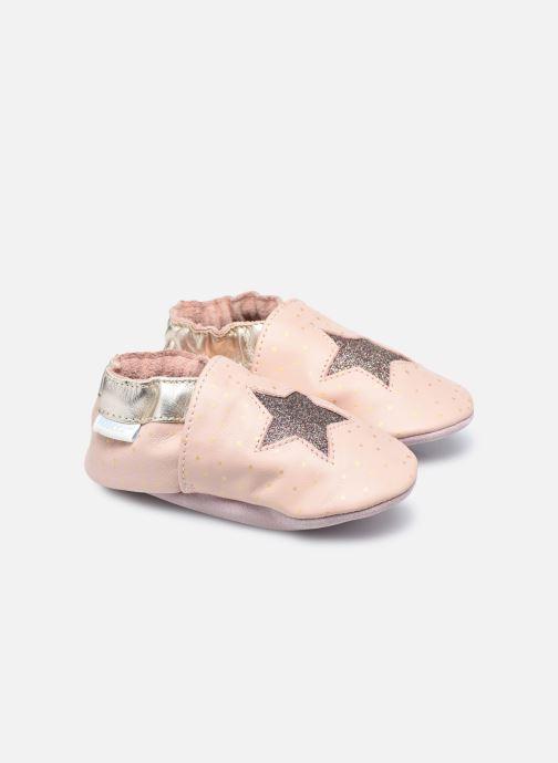 Pantofole Robeez Fire Star Rosa vedi dettaglio/paio