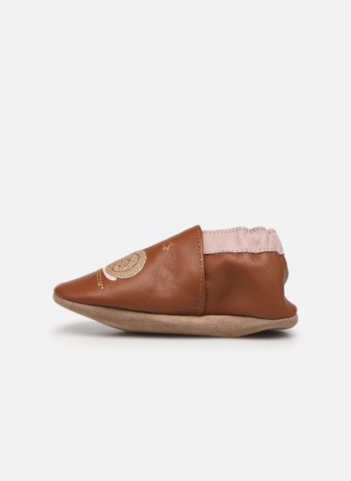 Pantofole Robeez Lovely Snail Rosa immagine frontale