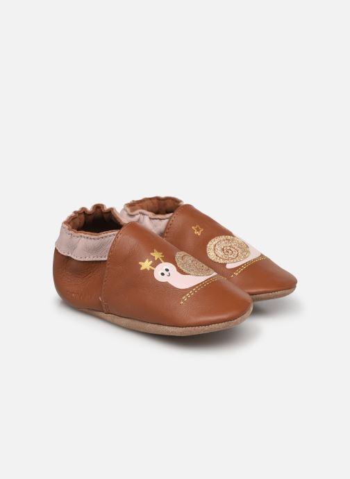 Pantofole Robeez Lovely Snail Rosa vedi dettaglio/paio