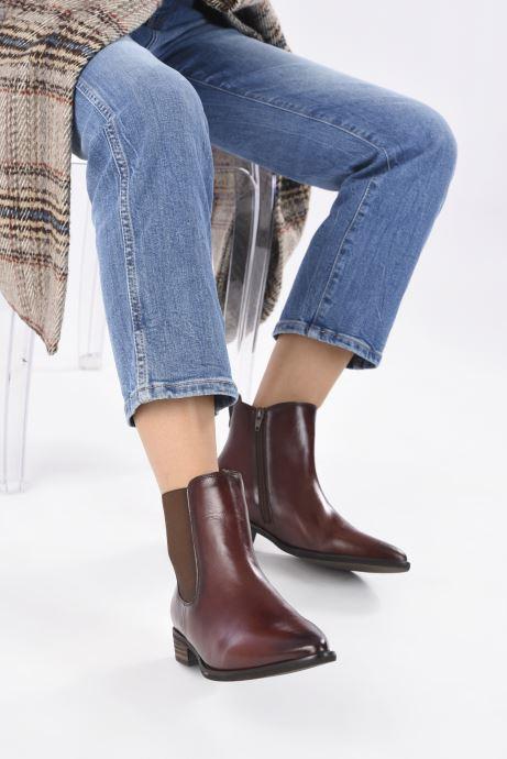 Bottines et boots Gabor Filipa Marron vue bas / vue portée sac