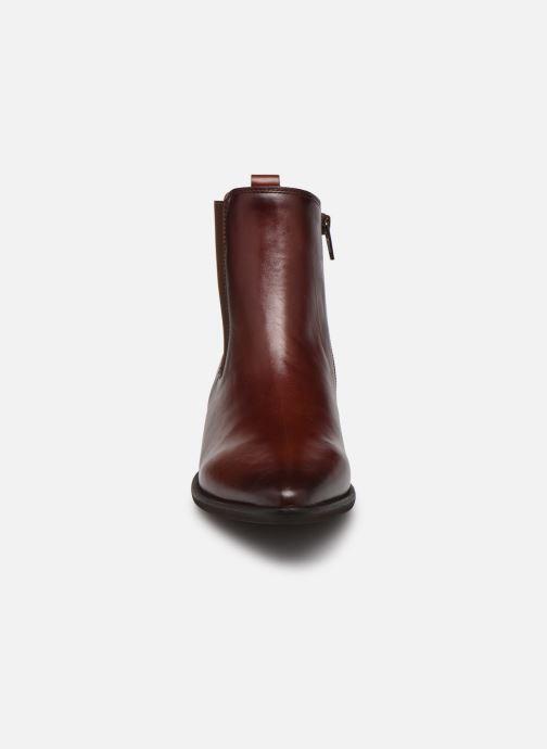Bottines et boots Gabor Filipa Marron vue portées chaussures