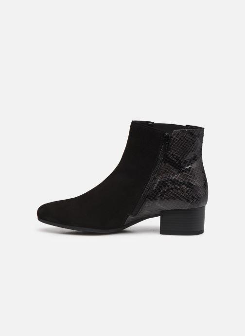 Bottines et boots Gabor Amelia Noir vue face