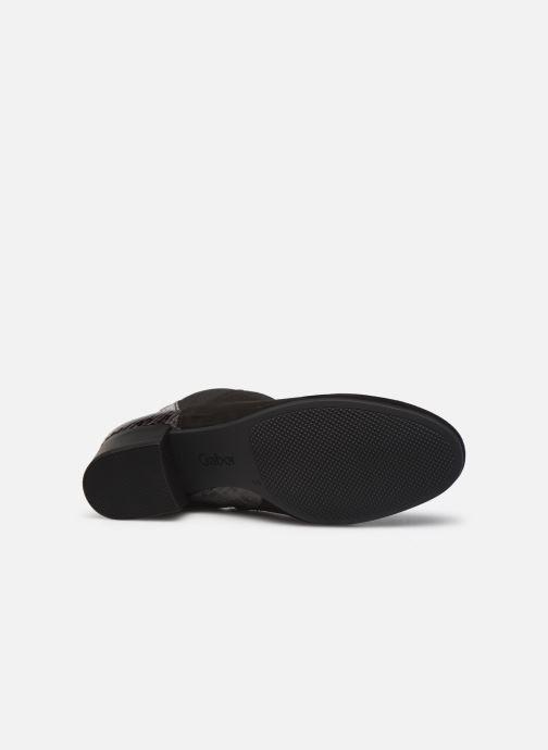 Bottines et boots Gabor Amelia Noir vue haut
