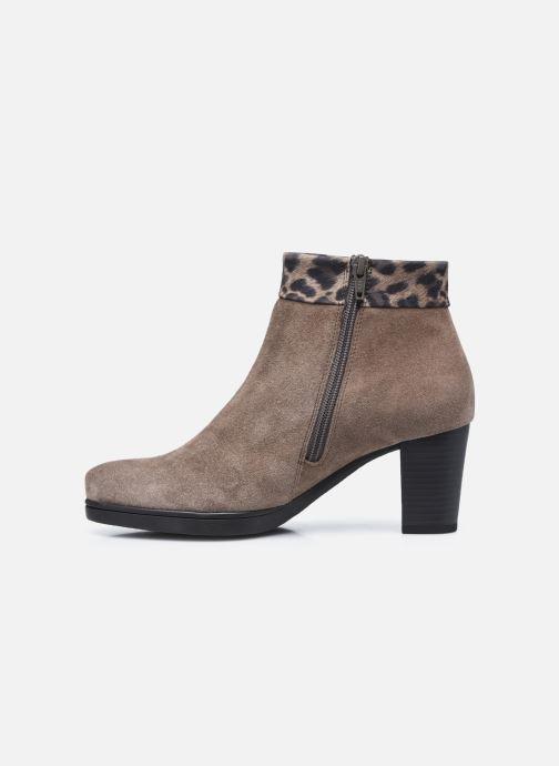 Bottines et boots Gabor Giulia Marron vue face