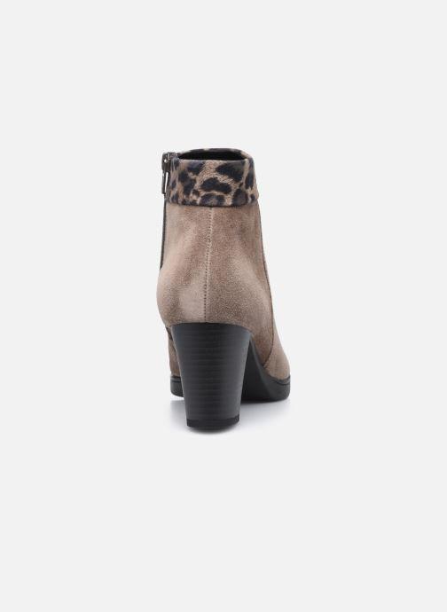 Bottines et boots Gabor Giulia Marron vue droite