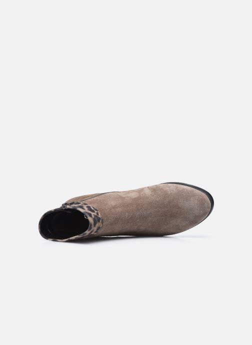 Bottines et boots Gabor Giulia Marron vue gauche