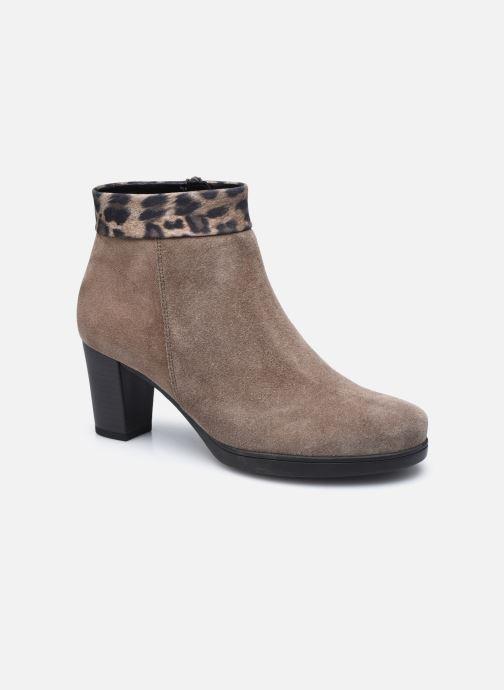 Bottines et boots Gabor Giulia Marron vue détail/paire