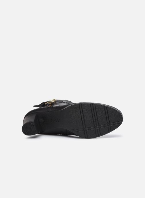 Bottines et boots Gabor Maéva Noir vue haut