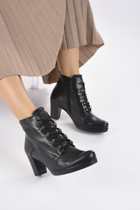 Stiefeletten & Boots Gabor Théa schwarz ansicht von unten / tasche getragen