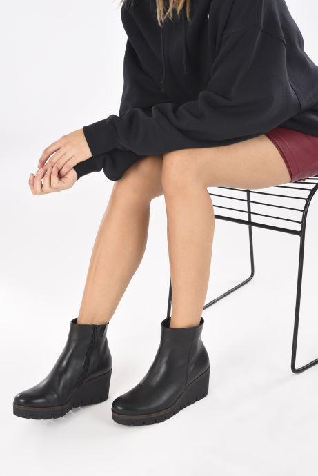 Stiefeletten & Boots Gabor Rita schwarz ansicht von unten / tasche getragen