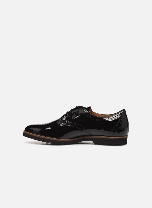 Chaussures à lacets Gabor Gabriela Noir vue face