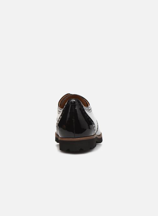 Chaussures à lacets Gabor Gabriela Noir vue droite