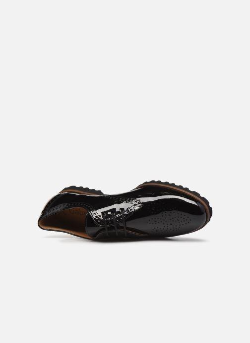 Chaussures à lacets Gabor Gabriela Noir vue gauche