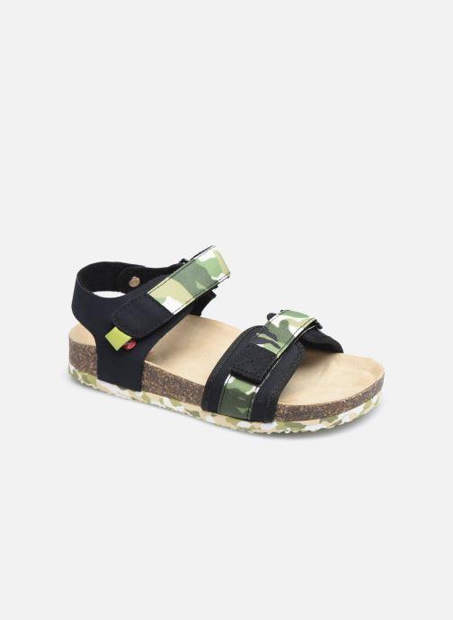 Sandales et nu-pieds NA! Afora Marron vue détail/paire
