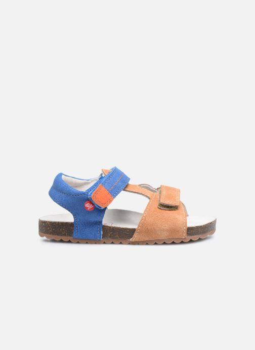 Sandalen NA! Atilou braun ansicht von hinten