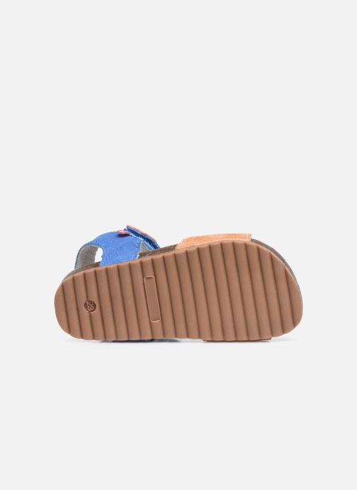 Sandali e scarpe aperte NA! Atilou Marrone immagine dall'alto
