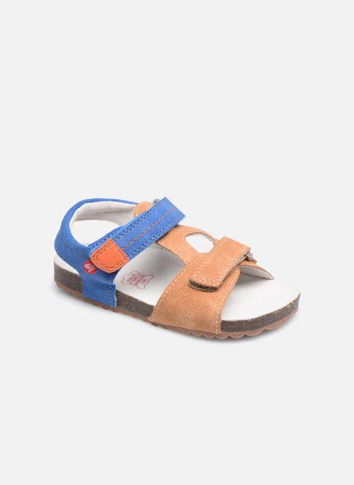 Sandaler NA! Atilou Brun detaljeret billede af skoene