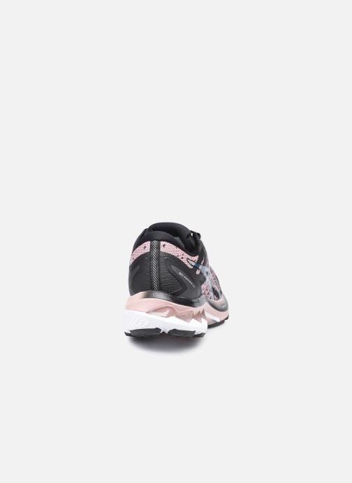 Zapatillas de deporte Asics Gel-Kayano 27 (Feel Free) Negro vista lateral derecha
