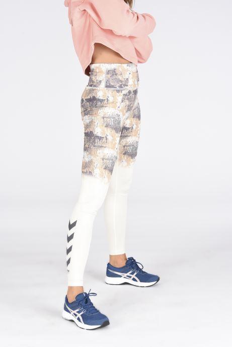 Chaussures de sport Asics Gel-Contend 6 W Bleu vue bas / vue portée sac