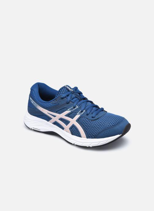 Chaussures de sport Asics Gel-Contend 6 W Bleu vue détail/paire