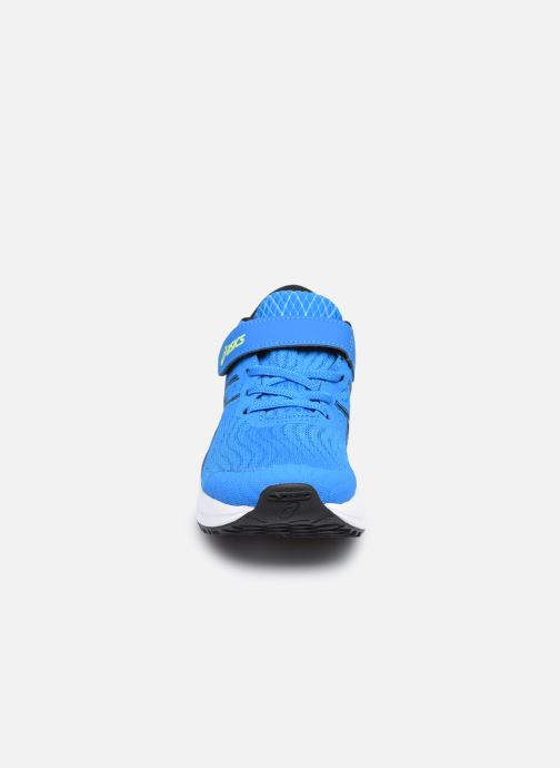 Scarpe sportive Asics PATRIOT 12 PS Azzurro modello indossato