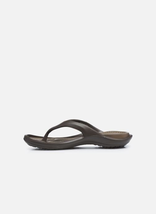 Tongs Crocs Athens M Marron vue face
