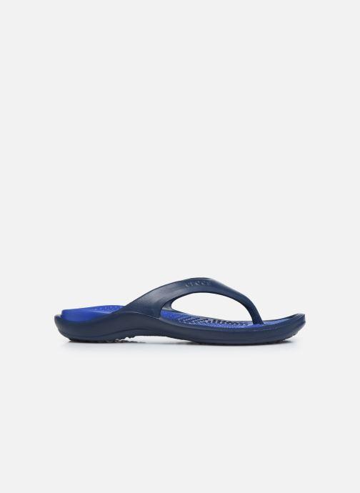 Zehensandalen Crocs Athens M blau ansicht von hinten