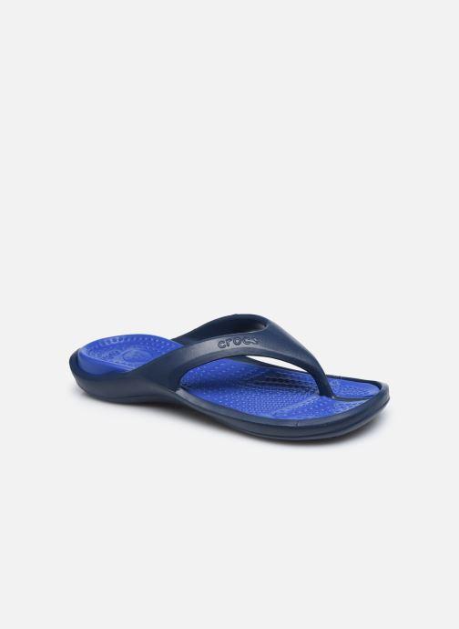 Tongs Crocs Athens M Bleu vue détail/paire