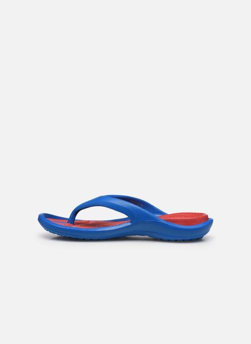 Zehensandalen Crocs Athens M blau ansicht von vorne