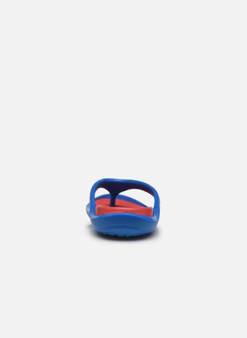 Zehensandalen Crocs Athens M blau ansicht von rechts