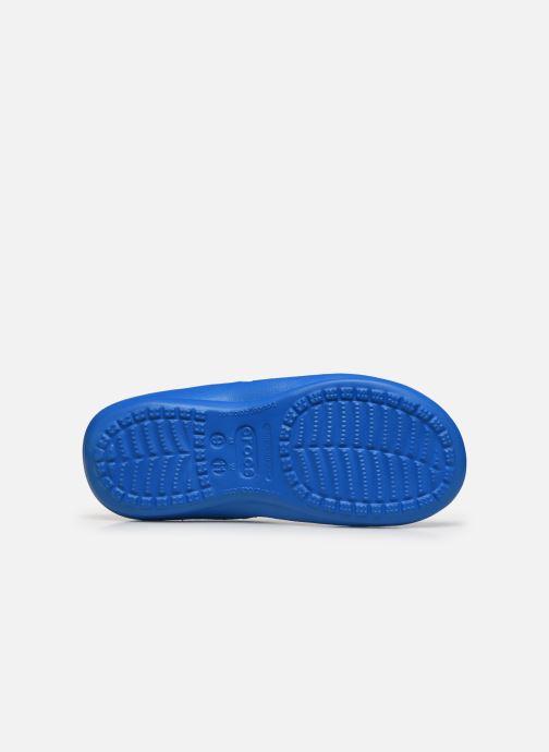 Zehensandalen Crocs Athens M blau ansicht von oben
