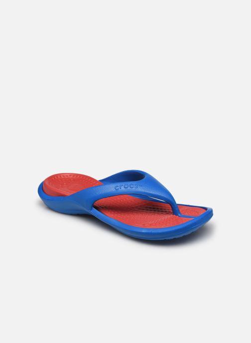 Zehensandalen Crocs Athens M blau detaillierte ansicht/modell