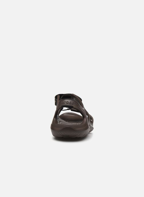 Sandali e scarpe aperte Crocs Swiftwater River Sandal M Marrone immagine destra