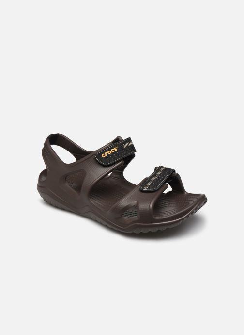 Sandali e scarpe aperte Crocs Swiftwater River Sandal M Marrone vedi dettaglio/paio