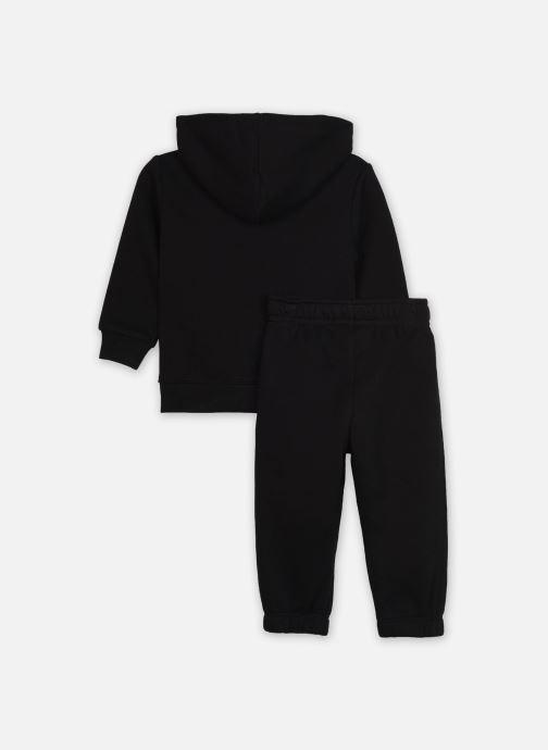 Vêtements Nike Sueded Fleece Futura Jogger Set Noir vue portées chaussures