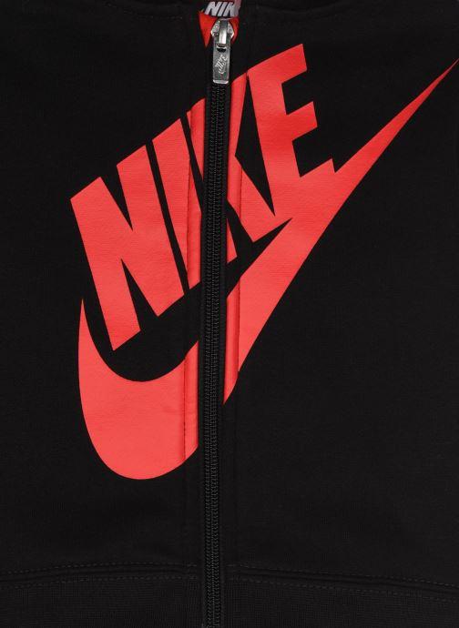 Vêtements Nike Sueded Fleece Futura Jogger Set Noir vue face