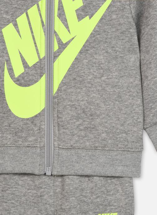 Vêtements Nike Sueded Fleece Futura Jogger Set Gris vue face